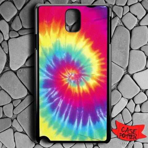 Tie Dye Full Color Samsung Galaxy Note 3 Black Case