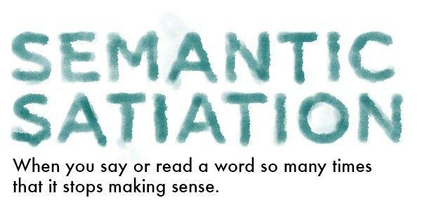 Semantic Satiation
