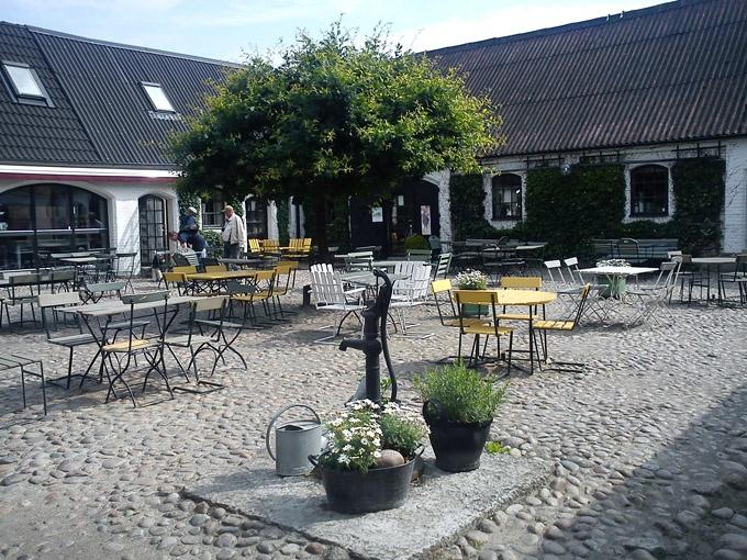 Olof Victors café Österlen Sweden