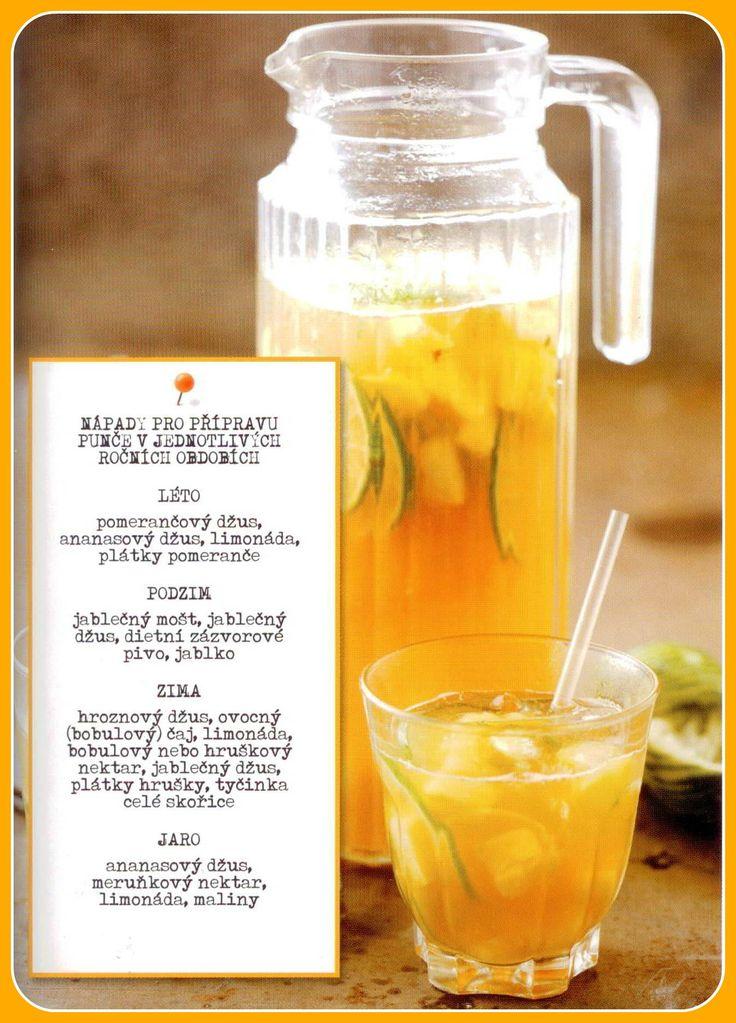 Zdravé nápoje na každé roční období... DOBŘE JÍST, LÉPE SE CÍTIT
