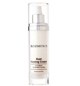 Bust Firming Cream Ideal for contouring your bust for a sexy silhouette! Caffeine and Palmitoyl Carnitine work together to visibly firm the thin, delicate skin of the breast. Its lightweight, non-oily lotion texture is gentle enough to use as part of a regular beauty routine. Dermatologist tested.