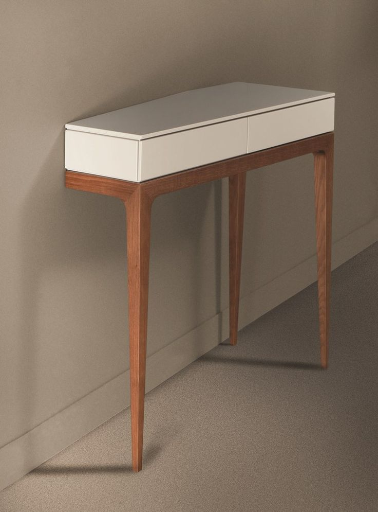 Mdf console table with drawers moved les contemporains - Table ovale marbre roche bobois ...