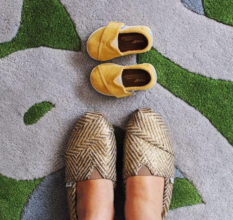 i really want these toms...of course I'd love the tiny yellow ones too but there's no mini me in the works yet :)