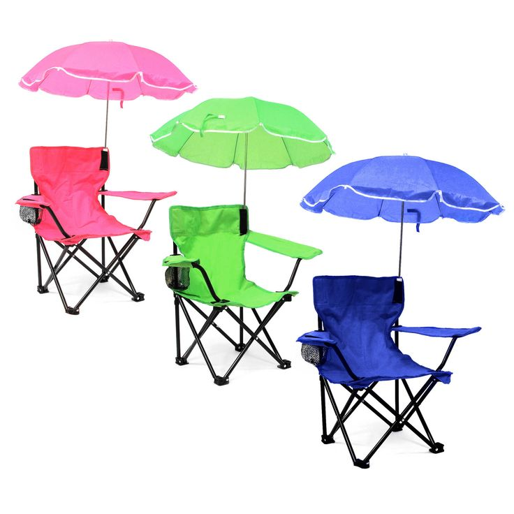 Nice Your Child Will Appreciate Having A Kidsu0027 Camp Chair With Umbrella By W.  This Lightweight Yet Durable Chair Gives Him Or Her Their Own Shaded Seat  For ...