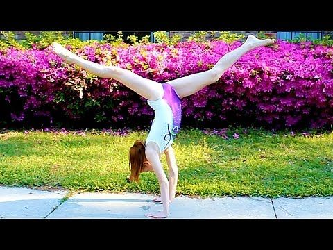 how to hold a long handstand  gymnastics videos