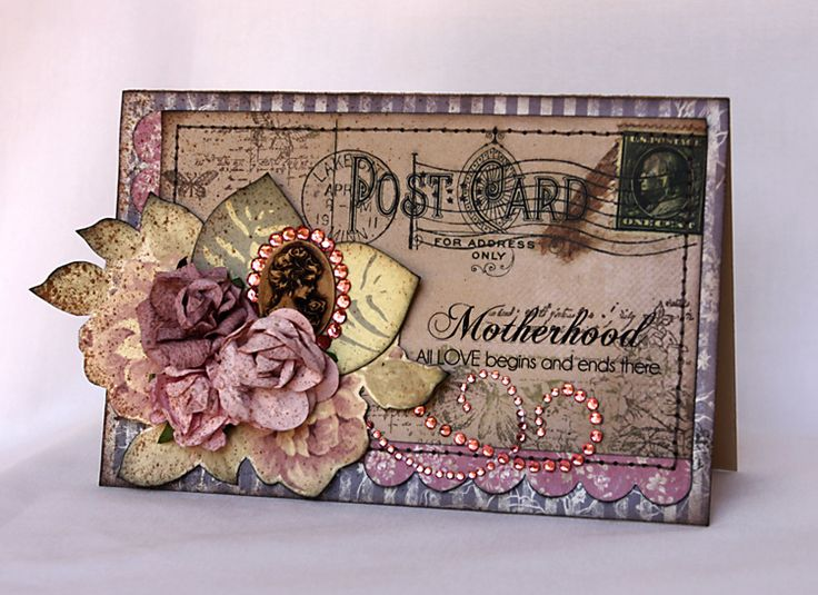 "Kaisercraft - ""Motherhood"" Card by Svetlana Austin"