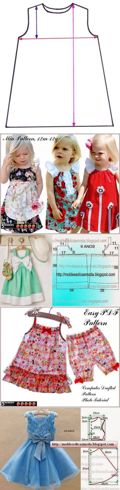 Красивая и практичная одежда для маленьких принцесс — Рукоделие