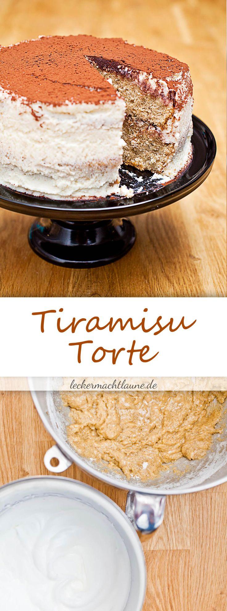 Tiramisu-Torte {à la melissa forti}