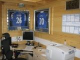 Guess who football shirts in the office at worcester park