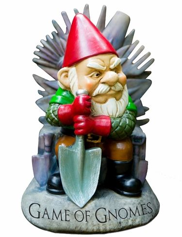 'Game of Gnomes' Game of Thrones Garden Gnome – GardenFun.com