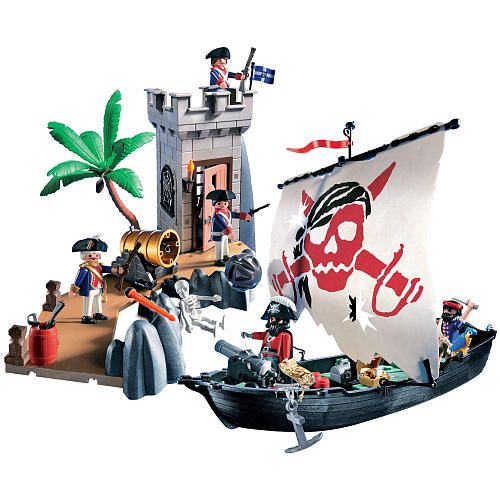 "Playmobil Pirate Bastion Set - Playmobil - Toys ""R"" Us"