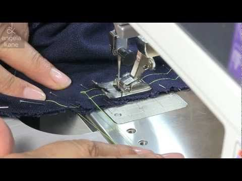 How to Sew a Set-In Sleeve - Sewing from Angela Kane - YouTube