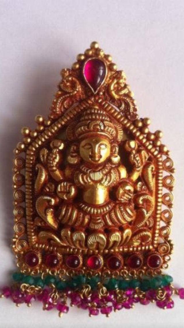 Temple Jewellery Pendant