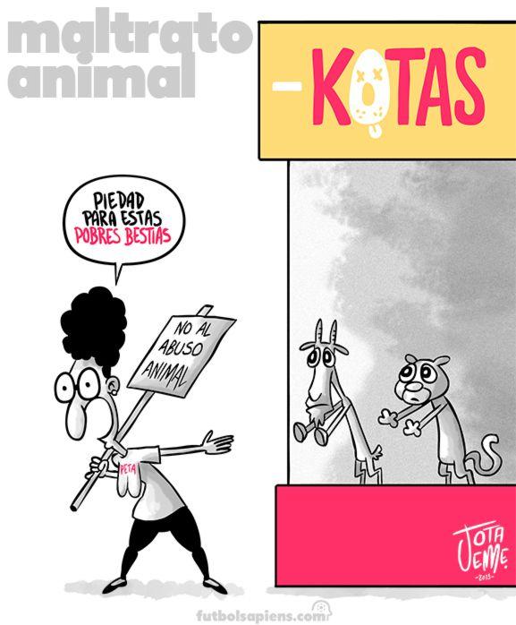 Maltrato animal - Sobre Chivas y Pumas del fútbol mexicano...
