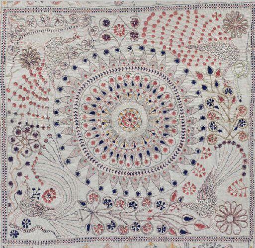 Kantha – вышитые одеяла из Бангладежа.: wool_bulb