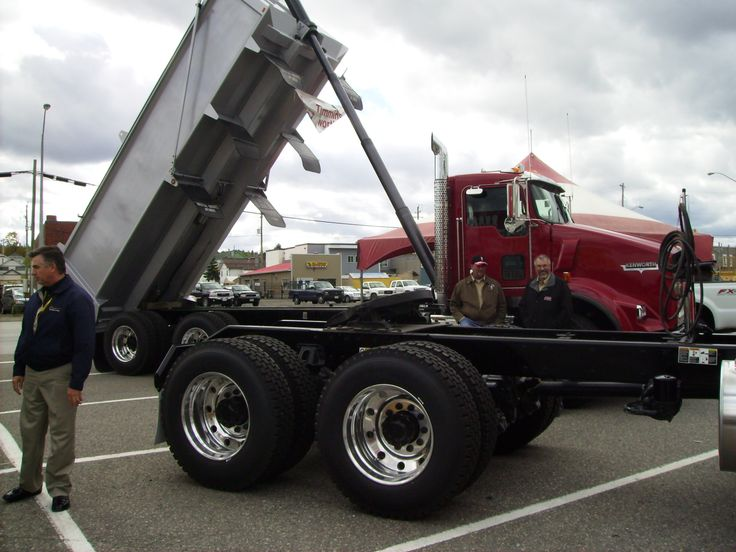Randy Miller Inspiration Mining trucks at the Langmuir Property