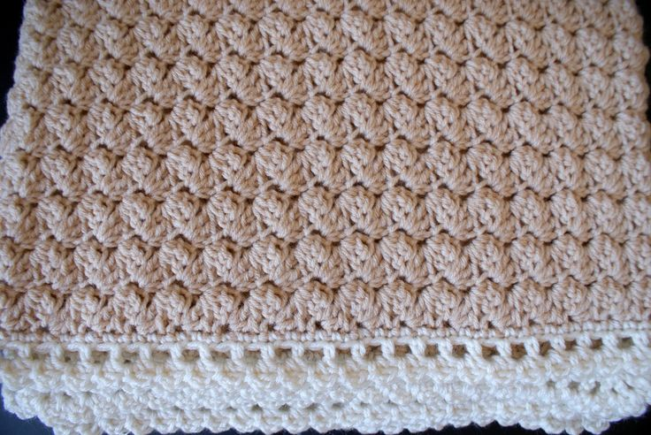 Honey Maple Handmade Baby Throw, crochet blanket, Bed Cover, gift idea, medium weight, beige, white, aran, Ready to Ship