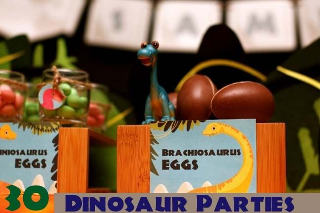 30 dinosaur birthday parties that you will love - as well as tons of great dinosaur party ideas!