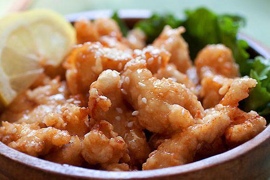 Honey Sesame Chicken | Easy Delicious Recipes