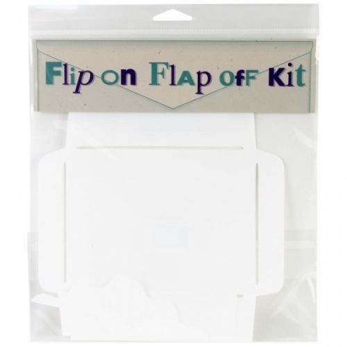 """VERSES - MAKE YOUR OWN ENVELOPE KIT 2039 - FLIP ON FLAP OFFVERSES RUBBER STAMP COMPANYThe Flip On Flap Off Kit allows you to vary the style of your envelopes. Includes 3 interchangeable flap designs and 1 A2 envelope template measuring 5.75""""X4.5"""".  A kit that lets you vary the style of your envelopes! Three interchangeable flap designs and one A-2 envelope template."""