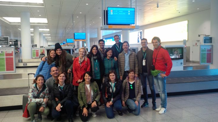1st group at MUC airport