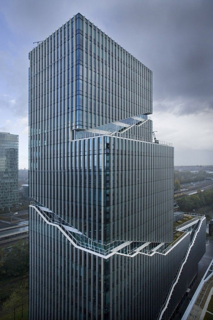 Vinoly tower, Rafael Vinoly Architects, van den Oever, Zaaijer & Partners architecten | Amsterdam | Netherlands | MIMOA