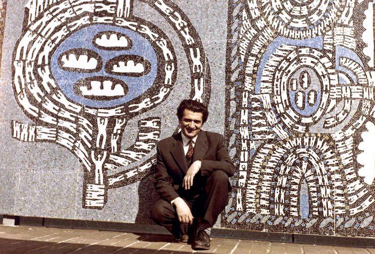 Bedri Rahmi Eyüboğlu - Mozaik - Kuman-art.com