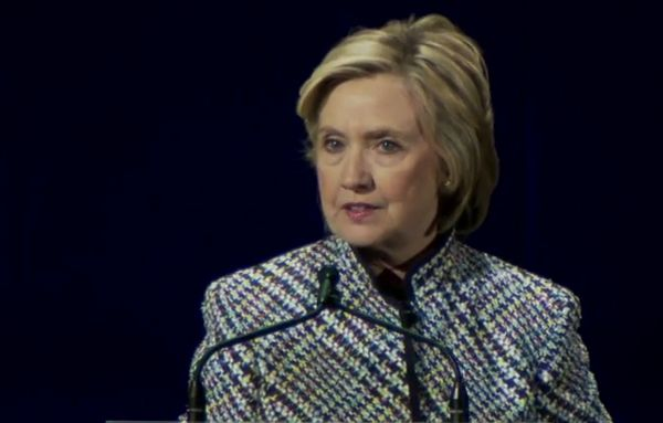 """Hillary Clinton Pushes Abortion in First Speech as Candidate: Too Many Women """"Denied"""" Abortions http://www.lifenews.com/2015/04/24/hillary-clinton-pushes-abortion-in-first-speech-as-candidate-too-many-women-denied-abortion/"""