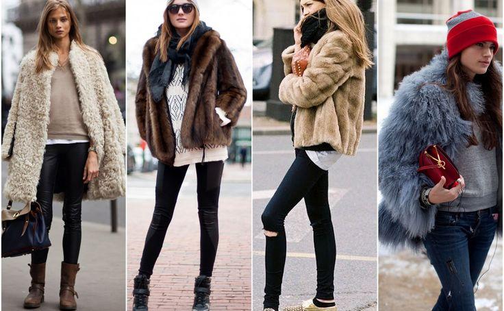 Lo mejor para el frío? Regresan las chaquetas de pelo!!!!!