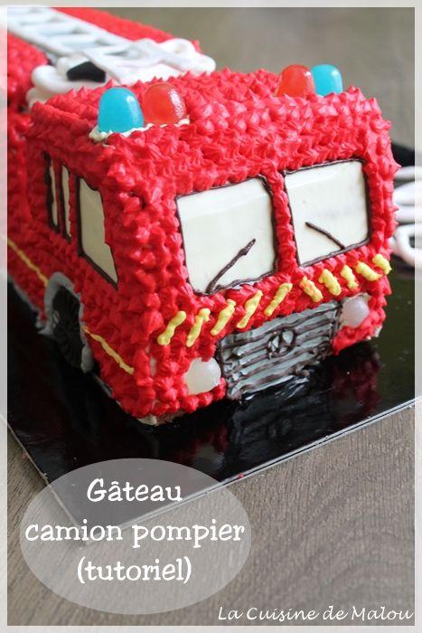 Gut gemocht Les 25 meilleures idées de la catégorie Gâteau de pompier sur  JJ03