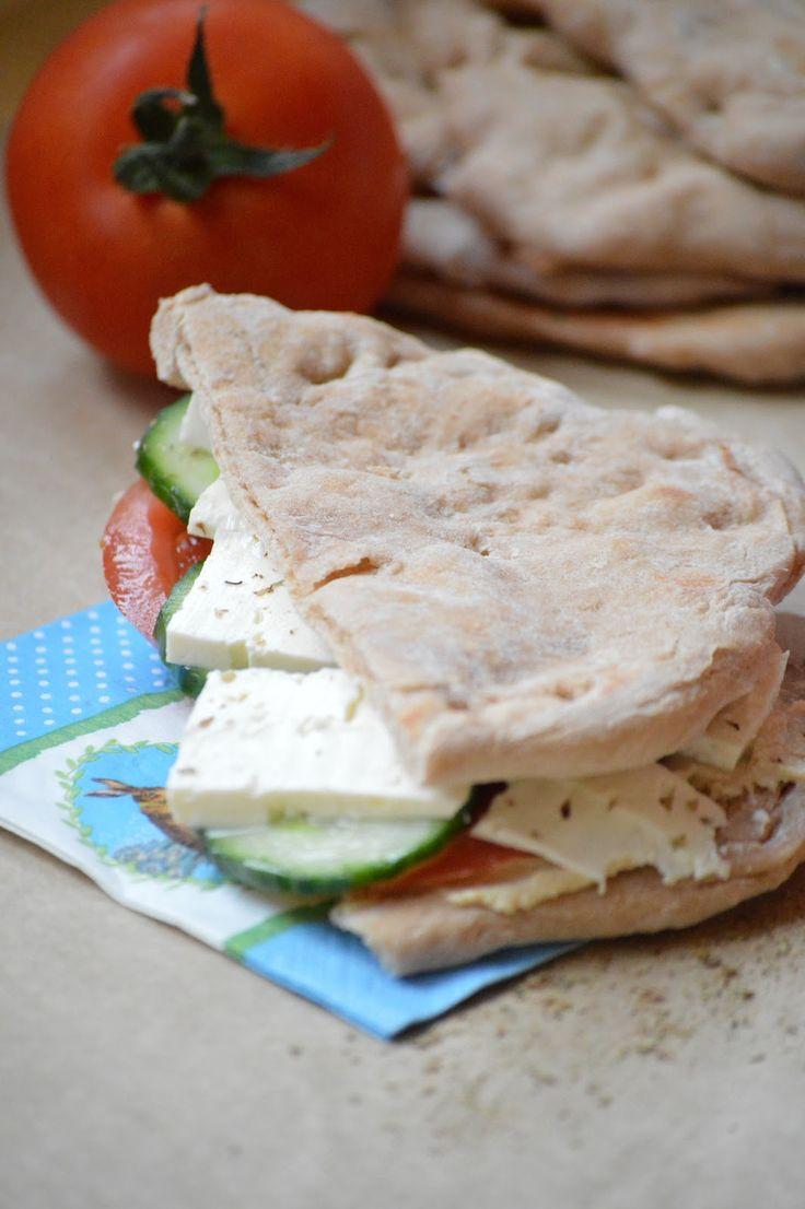 Delisssima: Homemade celozrnný pita chlieb