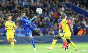 Leicester City's Riyad Mahrez has the ability to change direction quicker than anyone else on the pitch