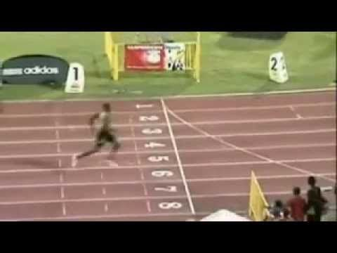 Usain Uolt 400m wins easily - YouTube