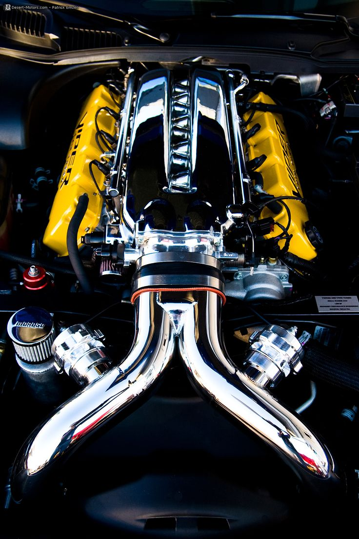 Hennessey Dodge Viper Venom 1000 SRT-10 Coupe Engine Bay