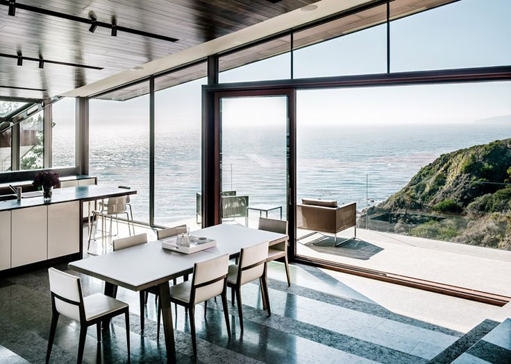 San Francisco office Fougeron Architecture has designed a house in California that steps down the side of a cliff and projects over the edge.