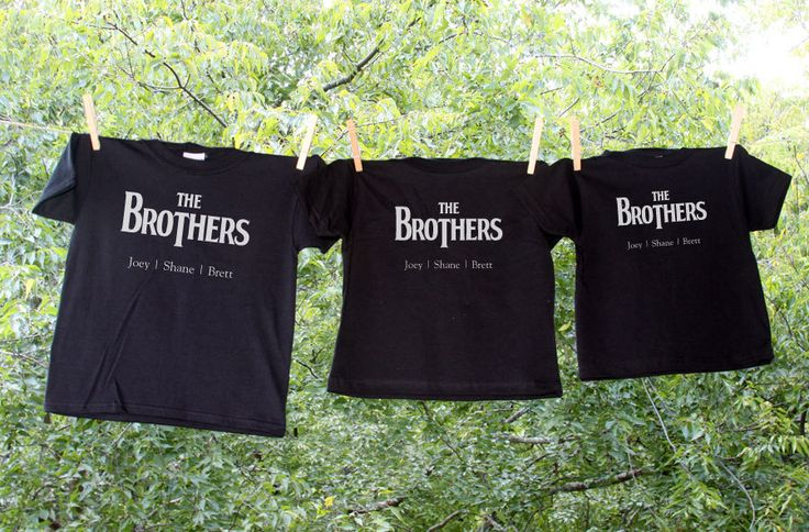 Custom Beatles Inspired Navy Sibling Shirts for Heather Fisher - Set of 4. $53.00, via Etsy.