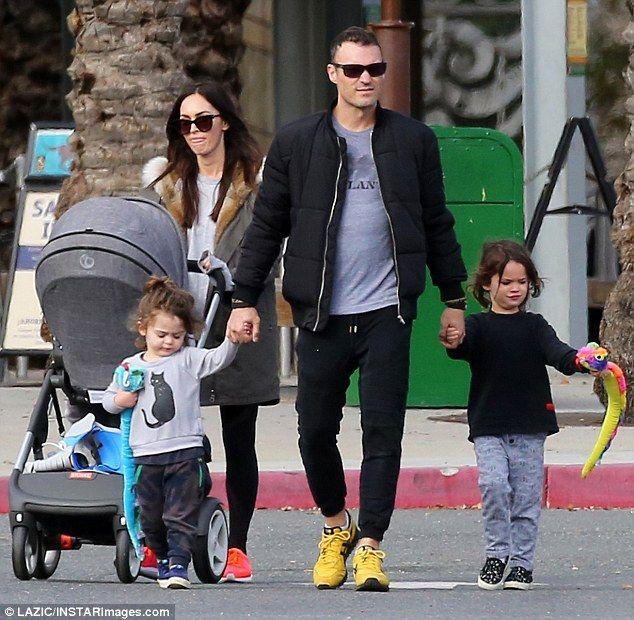 Megan Fox and Brian Austin Green enjoy family day at the ...