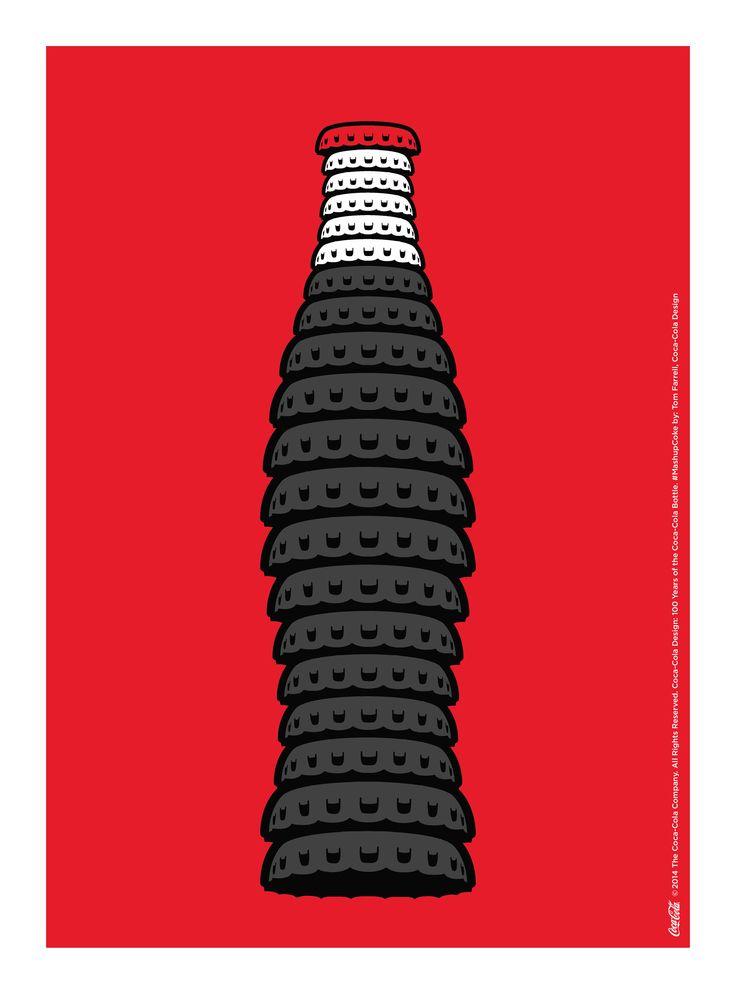 Kiss The Past Hello. Coca-Cola Design: 100 Years of the Coca-Cola Bottle. #MashupCoke by: Tom Farrell, Coca-Cola Design