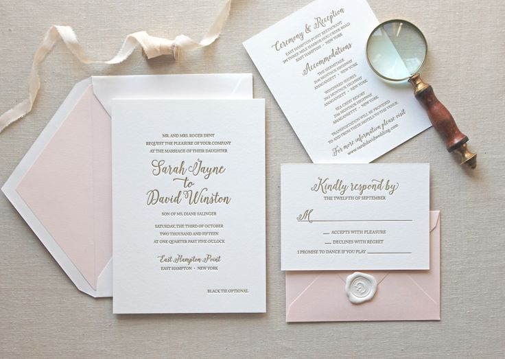 Best 25 Letterpress invitations ideas – Classic Wedding Invitation Designs