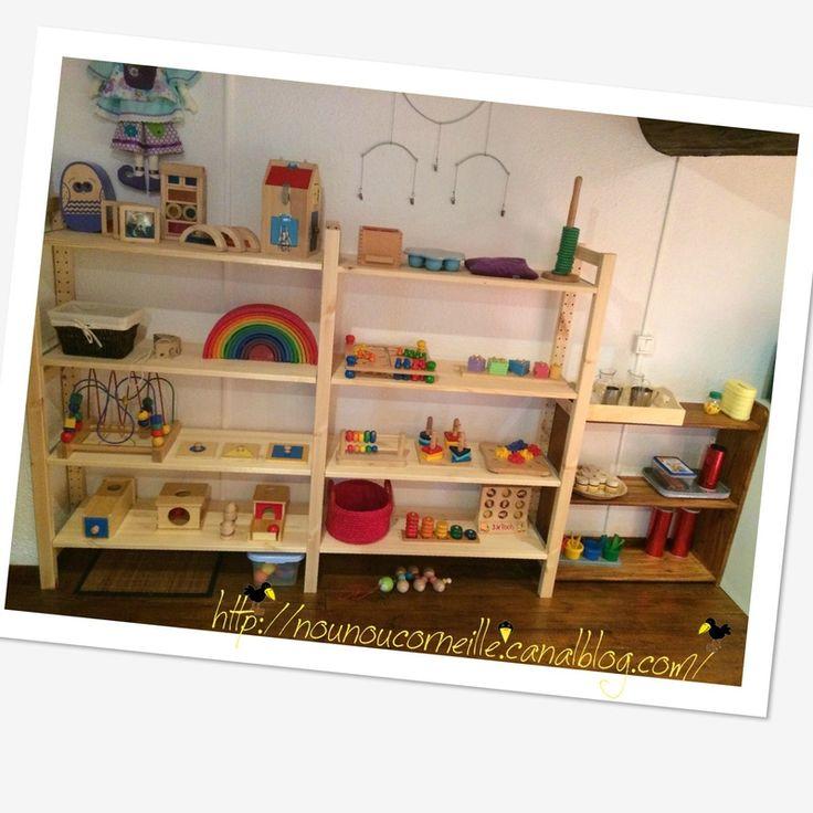420 best images about am nagement chambre enfants on - Amenagement chambre montessori ...