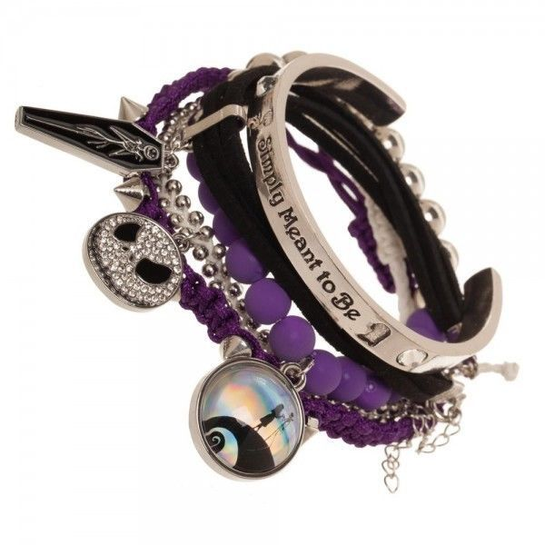 Nightmare Before Christmas Arm Party Bracelet Set Officially Licensed Disney NEW #Bioworld