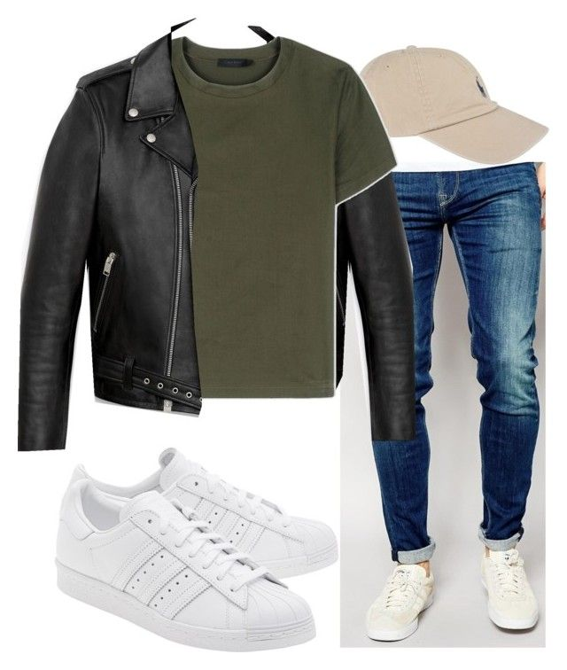 """Untitled #938"" by nneomaswag on Polyvore featuring Pepe Jeans London, Polo Ralph Lauren, Yves Saint Laurent, Calvin Klein Collection, adidas Originals, men's fashion and menswear"
