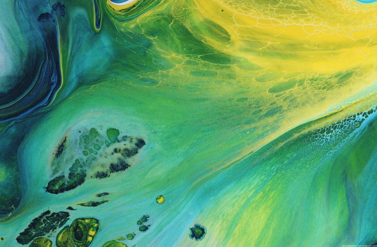 Abstract Water & Oil color Paintings, HybridLava