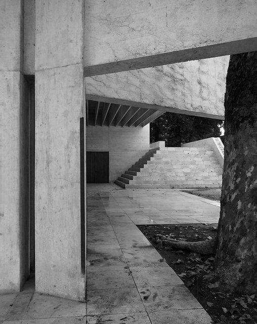 Nordic biennale pavilion, Venice, Italy 1958-1962. Sverre Fehn.