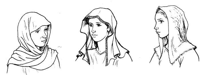 Early Pagan Saxon Veils - Penelope Walton-Rogers