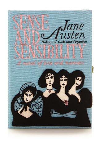 Sense And Sensibility Book Clutch by OLYMPIA LE-TAN for Preorder on Moda Operandi