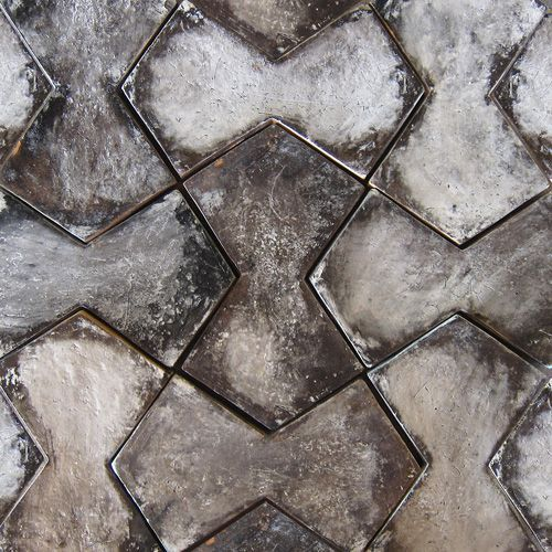 Tabarka Studio (in Arizona) have perfected handmade terracotta tiles. See Blogroll for a link to their site. | Decanted