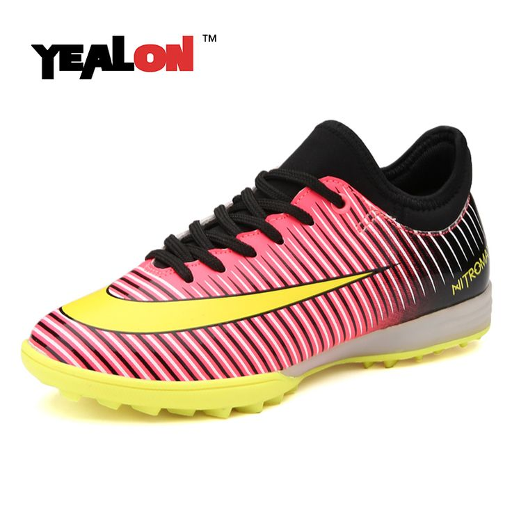 ==> [Free Shipping] Buy Best Superfly Original Football Boots Kids Soccer Shoes With Anklets Soccer Cleats Indoor Futsal Led Sneakers Light Up For Girls Online with LOWEST Price   32761625809