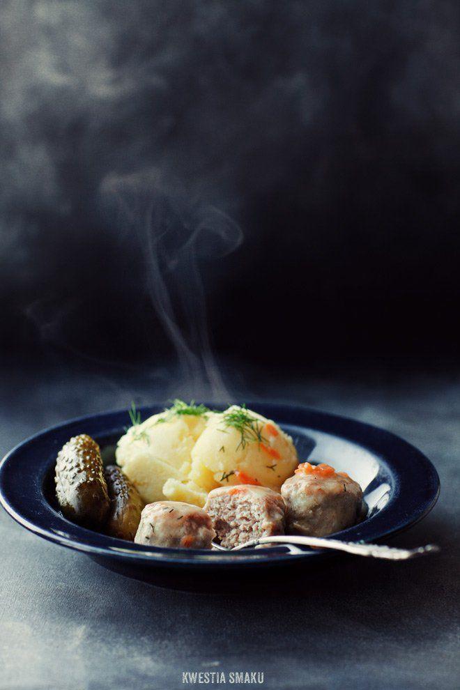 Pulpeciki w sosie koperkowym