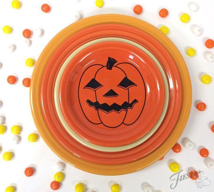 Fiesta Dinnerware Spooky Pumpkin